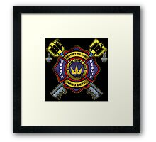 Destiny Islands Firehouse Framed Print
