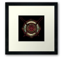 Winchester Firehouse Framed Print