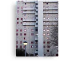 communist building east Berlin Canvas Print