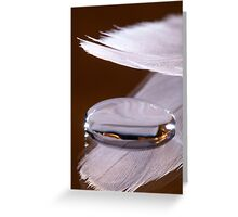 A Feather for Protection Greeting Card