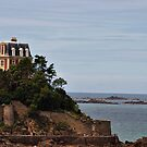 VILLA IN DINARD by Karo  Evans