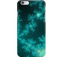 Ice Spires & Snowflakes iPhone Case/Skin