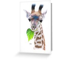Baby Giant Greeting Card