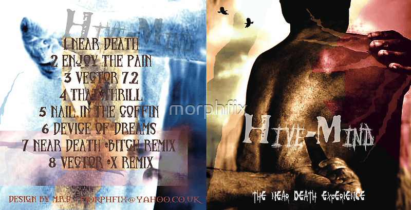 HIVE-MIND -THE NEAR DEATH ALBUM COVER I by morphfix