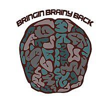 Bringing brainy back Photographic Print