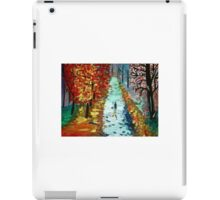 Lonely night painting iPad Case/Skin