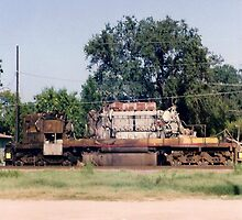 Union Pacific Engine by Cheyenne