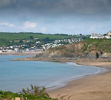 Beautiful Bigbury Beach by DonDavisUK