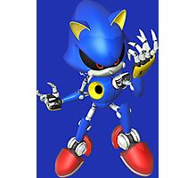 Metal Sonic Hamlet Pose Photographic Print