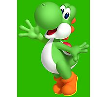 Yoshi Waving like a fool Photographic Print