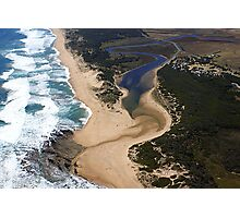 Mouth of Powlett River Photographic Print