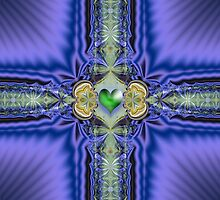 Sometimes a heart is green by CanDuCreations