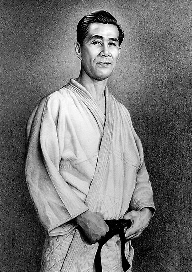Japanese Memorial Portrait by Margaret Harris