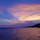 Sunset on St. Andrews Bay by May Lattanzio