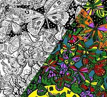Butterflies Art by CantikaCase