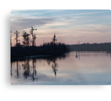 Sunset on Bear Creek  Metal Print