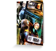 Ford Sedan Greeting Card