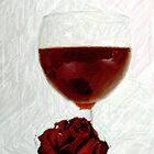 Glass of wine by dotweb