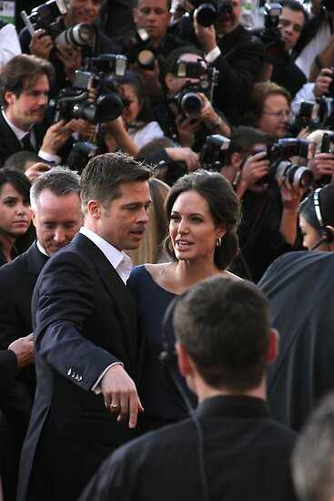 Brad and Angelina by abfabphoto