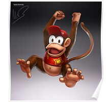 Diddy Kong Poster