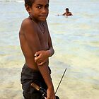 Spear Fisher by David Reid