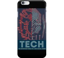 Tech - The Definition Force of a New Social Order iPhone Case/Skin