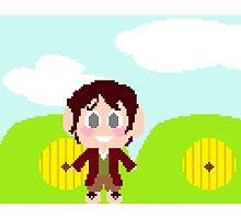 Pixel Bilbo Baggins by GalaxyBee