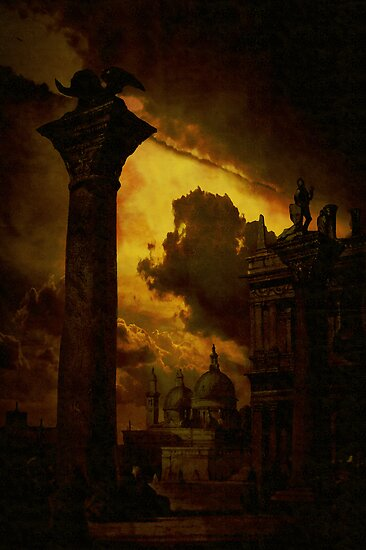 Venice....columns of St Mark by Jeff Burgess