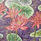 Waterlilies XVI by Alexandra Felgate