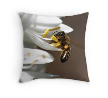 Just Hanging On Throw Pillow