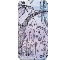 Zentangle Inspired On WaterColour iPhone Case/Skin