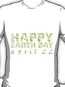 Earth Day Celebration 3 T-Shirt