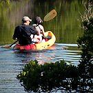 Fun Kayaking by Rosalie Scanlon