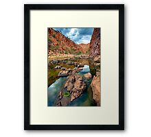 Ormiston Reflection and Detail Framed Print