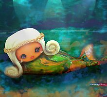 CHUNKIE Mermaid by © Karin  Taylor