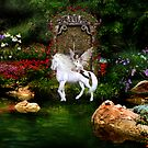 Unicorn White Beauty And Heart Angel by mickeyelvis128
