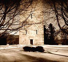 Monument Entrance by R. Allen Walker