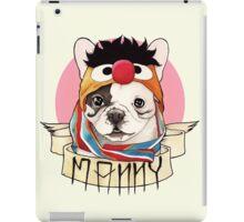 Manny the Frenchie iPad Case/Skin