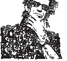 Keith Richards Letterhead by Will Clark