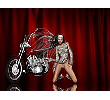 motorcycle show Photographic Print