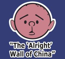 Karl Pilkington - The Alright Wall Of China by Idiot-Nation