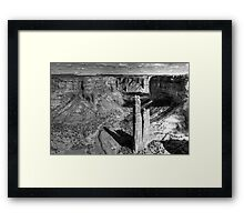 The Black and the White of It Framed Print