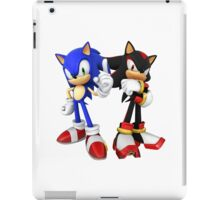 Sonic and Shadow the Hedgehogs iPad Case/Skin
