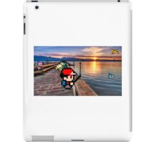 Gone Fishing with Ash Ketchum iPad Case/Skin