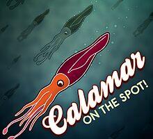 Calamar by Tordo