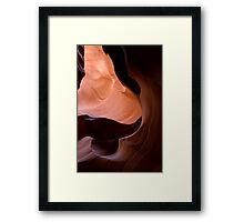 Chocalat Swirls Framed Print