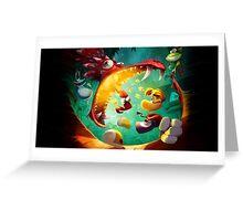 Rayman Legends - Dragon Greeting Card