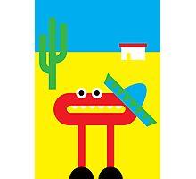 Mister O and his Sombrero do Mexico Photographic Print