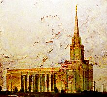 West Jordan LDS Temple by Ryan Houston