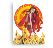 Fire Fairy Canvas Print